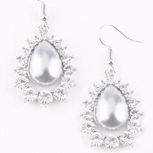 Free with Bundle Regal Renewal White Earrings